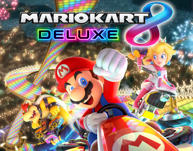 Mario Kart 8 Deluxe (Nintendo), Gamers Greeting, gamersgreeting.com