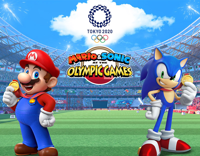 Mario & Sonic Tokyo 2020 (Nintendo), Gamers Greeting, gamersgreeting.com