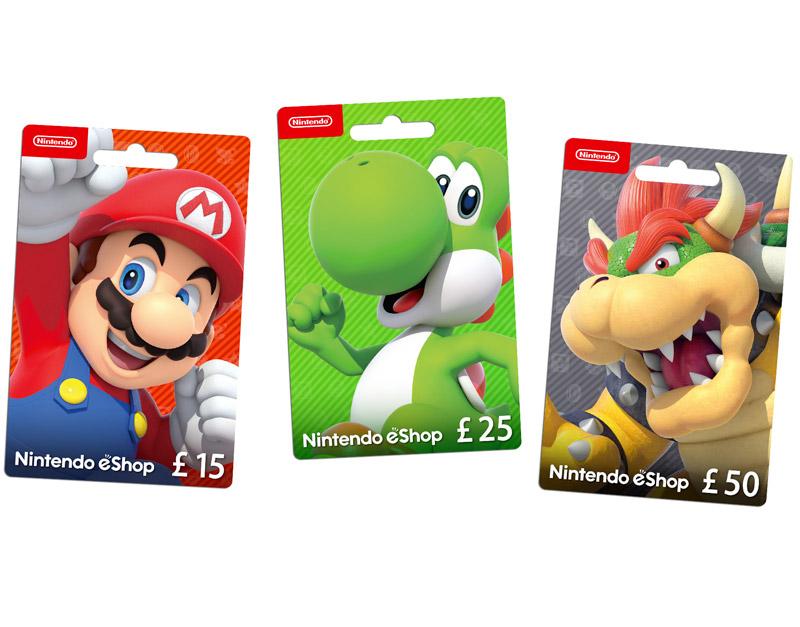 Nintendo eShop Gift Card, Gamers Greeting, gamersgreeting.com