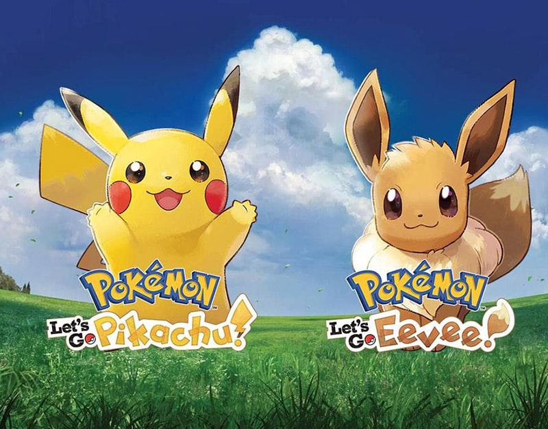 Pokemon Let's Go Eevee! (Nintendo), Gamers Greeting, gamersgreeting.com