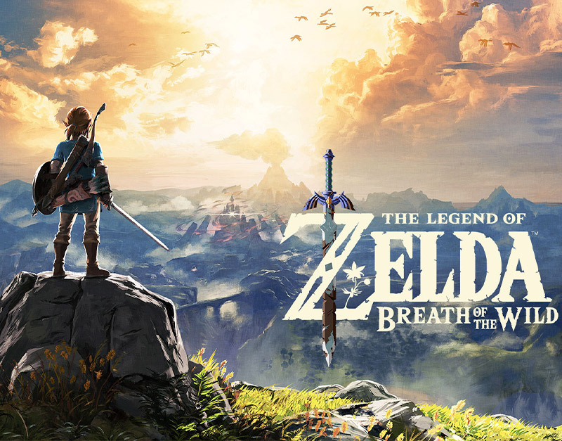 The Legend of Zelda: Breath of the Wild (Nintendo), Gamers Greeting, gamersgreeting.com